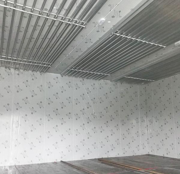 直冷铝排冷冻库